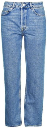 Selected Kate Rail Blue Jeans