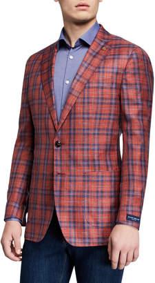 Peter Millar Men's Capri Plaid Soft Sport Jacket