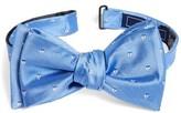 The Tie Bar Men's Sailboat Sprint Silk Bow Tie