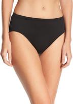 La Blanca Plus Size High-Waisted Tummy Toner Swim Bikini Bottom