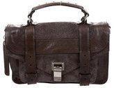 Proenza Schouler Suede & Leather Tiny PS1 Satchel
