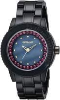 Sprout Women's ST/6506JMPR Corn Resin Purple Swarovski Elements Bracelet Watch
