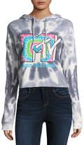 Freeze MTV Cropped Sweatshirt-Juniors