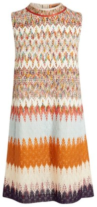 Missoni Patchwork Zigzag Shift Dress