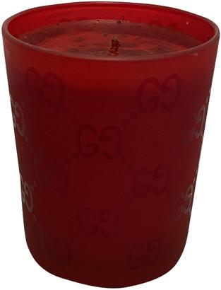 Gucci Red Glass Home decor