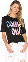 Kenzo Single Jersey Come Out Tee in Black