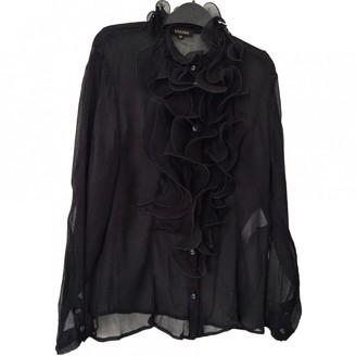 Escada Black Silk Top for Women