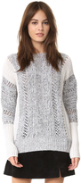 Autumn Cashmere Color Block Sweater