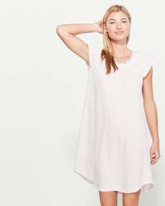 Miss Elaine Petal Pink Silky Nightgown