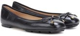 Tory Burch Laila Driver Leather Ballerinas