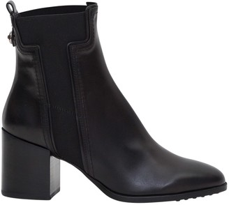 Tod's Tods Booties With T Shaped Elastic