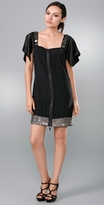Sheri Bodell Eton Mini Dress