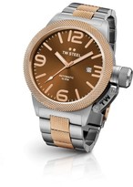TW Steel Canteen CB155 Two Tone Rose Gold Automatic Mens Watch