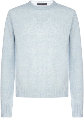 Prada Crewneck Knitted Sweater