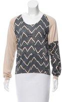 Dries Van Noten Printed Knit Sweater