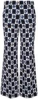 Emilio Pucci printed cropped flared trousers