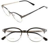Tom Ford Women's 'Ft5382' 50Mm Optical Glasses - Black