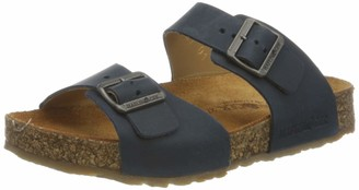 Haflinger Unisex Kids Bio Andrea T-Bar Sandals