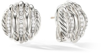 David Yurman Tides Stud Earrings with Diamonds