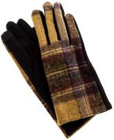 Charmed by JLM Black Plaid Gloves