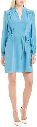 Diane von Furstenberg Glenda Silk Shift Dress