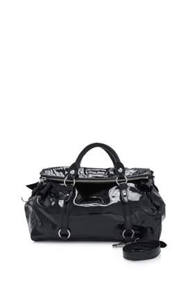 Miu Miu Vitello Black Patent leather Handbags