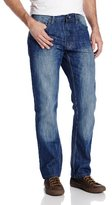 Southpole Men's 6181 Regular Straight-Fit Jean In Medium Blue