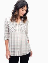 Splendid Margueriete Flannel Plaid Shirt