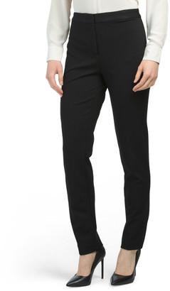 Ponte Ankle Length Pants
