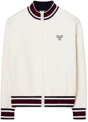 Tory Burch Racquet Tech Knit Jacket