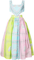 Natasha Zinko bandana print halter dress - women - Cotton/Polyamide - 38