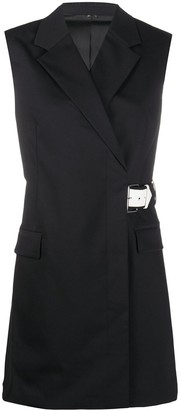 Helmut Lang Double-Breasted Belted Gilet