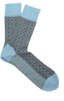 Falke Mehndi cotton-blend socks