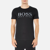 BOSS ORANGE Men's Tommi 3 Large Logo TShirt - Black