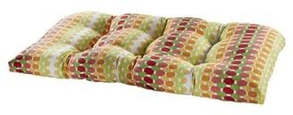Bungalow Rose Indoor/Outdoor Loveseat Cushion Fabric: Citrus