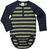 Polarn O. Pyret Baby Boys Henley Bodysuit