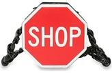 Moschino 'Shop' Leather Shoulder Bag