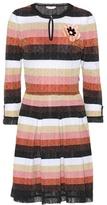 Fendi Metallic knitted dress