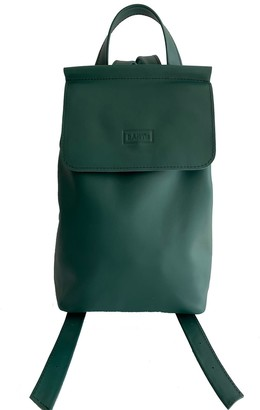 Kartu Studio Leather Backpack Peppermint - Green