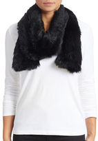 Surell Long Haired Rabbit Scarf