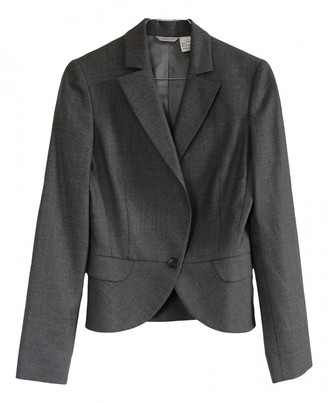 Barneys New York Grey Wool Jacket for Women