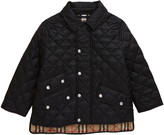 Burberry Brennan Water Resistant Diamond Quilted Jacket