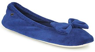 Isotoner 95810 women's Flip flops in Blue