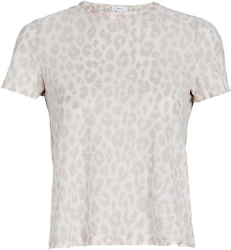 A.L.C. Bambina Leopard Print T-Shirt