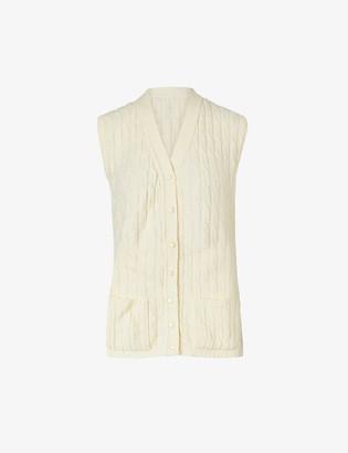 Beyond Retro Pre-loved V-neck knitted vest