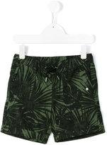 Hydrogen Kids - leaf print shorts - kids - Cotton/Linen/Flax - 2 yrs