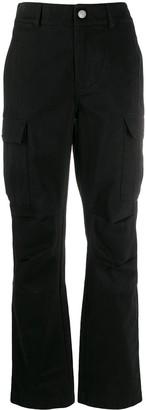 Alexander Wang High-Waisted Cargo Trousers