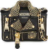 Moschino Biker jacket leather bag