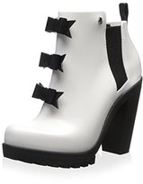 Melissa Women's Solider Karl Lagerfeld Ankle Bootie