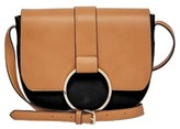 Urban Originals Reckless Destiny Faux Leather Saddle Bag - Black